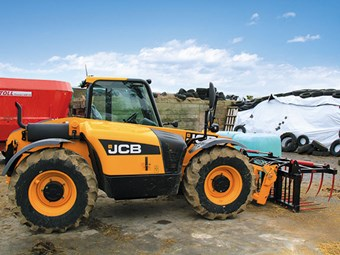 Test: JCB Loadall 526-56 Agri