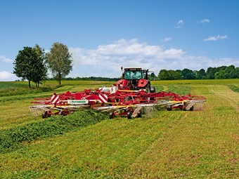 Test: Pottinger 1252C S-line rake