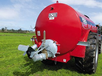 Test: Hi Spec slurry tanker 2500