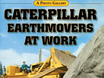 Caterpillar Earthmovers At Work by Bill Robertson