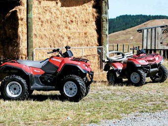 Suzuki Celebrates 25 Years with Launch of KingQuad 400