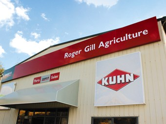 New premises for Roger Gill Agriculture