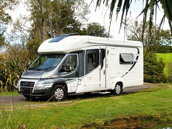 Wheel estate: Auto-Trail Dakota