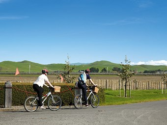 Destinations: Cycle trails in Hawke's Bay