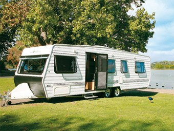 Elite caravans from Leisure Line