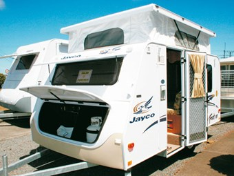 Jayco Feather caravan