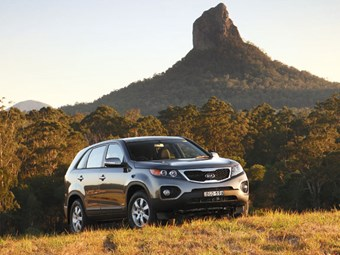 Tow Vehicle: Kia Sorento R