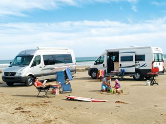 Motorhomes overtaking baches as the Kiwi holiday dream
