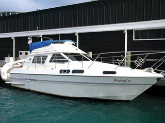 Picton boat buying: 1991 Sealine 305 Flybridge Cruiser – Petrel III