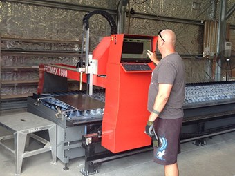 Media release: New Plasma Cutter to Increase Surtees Production