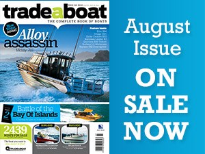 What's in the August issue of Trade a Boat?