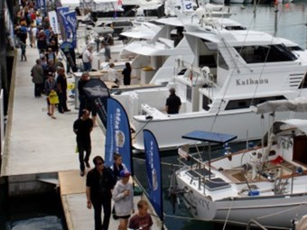New yachts unveiled at Auckland On Water Boat Show