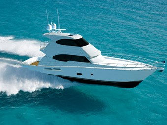Riviera's new flagship -- 70 Enclosed Flybridge