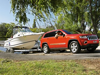 Tow Vehicle: Jeep Grand Cherokee