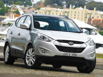Tow vehicle: Hyundai ix35 CRDi Elite