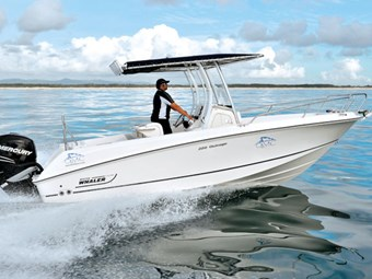 Boston Whaler 220 Outrage centre console