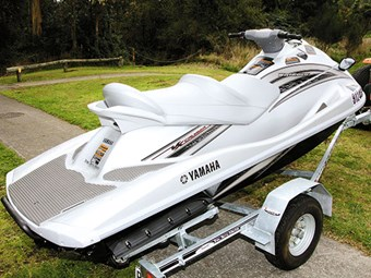 Second-hand boats: 2009 Yamaha VX Cruiser WaveRunner