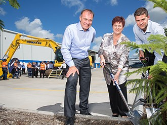 New Komatsu Mackay support facility 'shows long-term confidence'