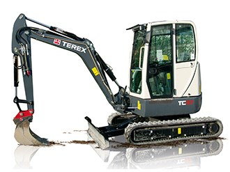 Terex TC37 mini excavator shows its mettle in NZ