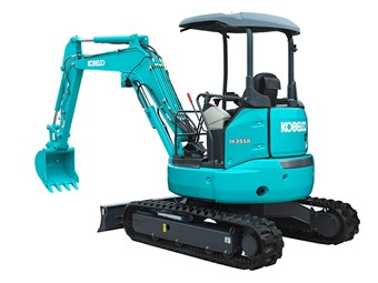 New Kobelco mini-excavators reduce fuel use and noise