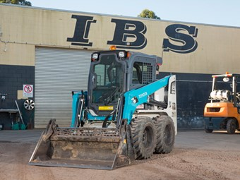 IBS Earthmoving buys 70th Toyota Huski loader