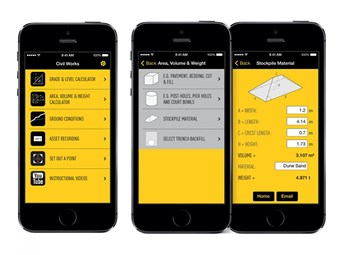 CivilWorks app helps get rid of on-site errors