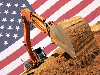Imports of US construction machinery fall sharply