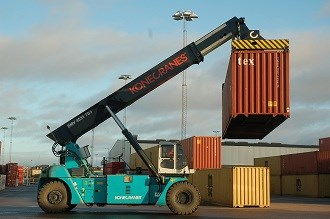 Konecranes introduces world's first hybrid reach stacker