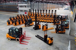 Toyota retains forklift sales leadership