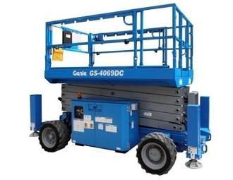 Genie unveils new outdoor scissor lift