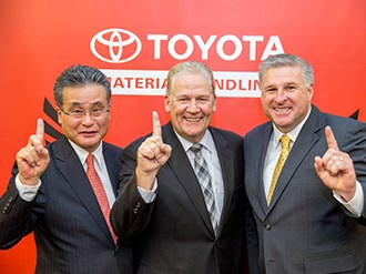 Perth is Toyota Material Handling's Branch of the Year