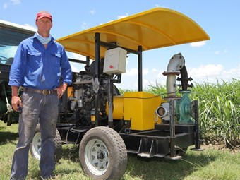 JCB buggy solves water pumping issues for sugarcane farmer