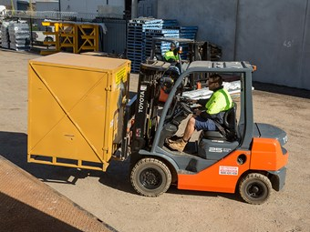 Case study: Clarkson Freightlines and Toyota forklifts