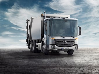 Mercedes-Benz Econic World Premier at ITTES