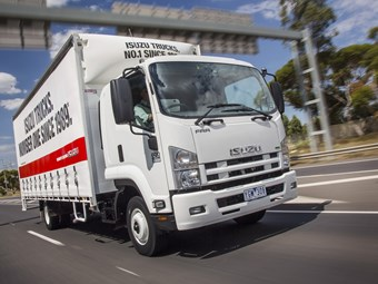 Isuzu to Launch Telematics Program at Melbourne Truck Show