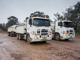 Hino Trucks popular in railway town