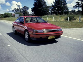 1985 Toyota Celica SX review