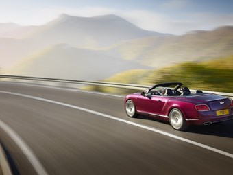 Bentley builds world's quickest drop-top