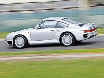 Porsche 959 supercar review