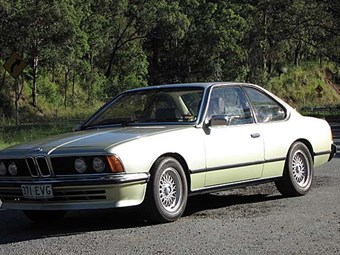 1978 BMW 635CSi Project - part 1: our shed