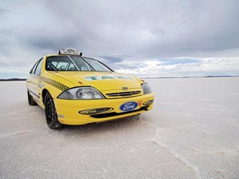 Ford AU Falcon salt racer