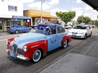 1953 Holden 48-215 RSL taxi
