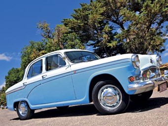 1957 Morris Marshal review