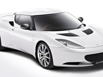 Lotus Evora - sneak preview