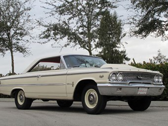 Factory Ford Galaxie racer for auction