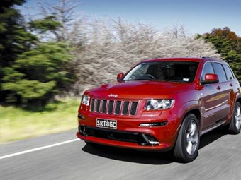 Jeep Grand Cherokee SRT8 Review