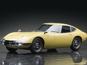 1967 Toyota 2000GT sells for $US1.15m