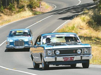 1970 Falcon XW GT vs 1968 Mercedes 300SEL: Oz vs Euro #5