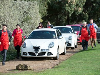 Masterchef and Alfa Romeo: club for a club