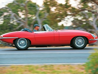 1962 Jaguar E-Type: Past Blast